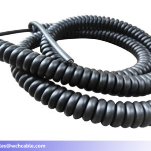 150V curly cable