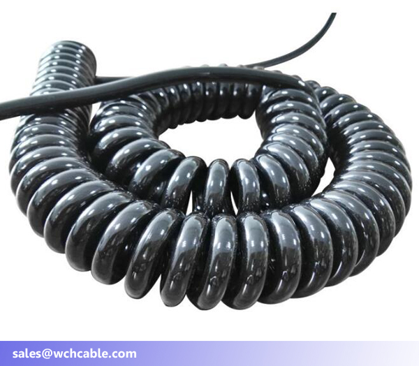 600V spring cable