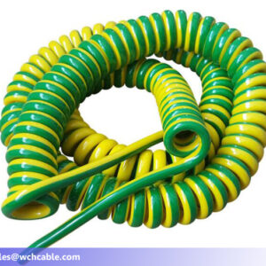 halogen free spring cable