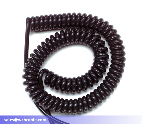 spiral spring cable